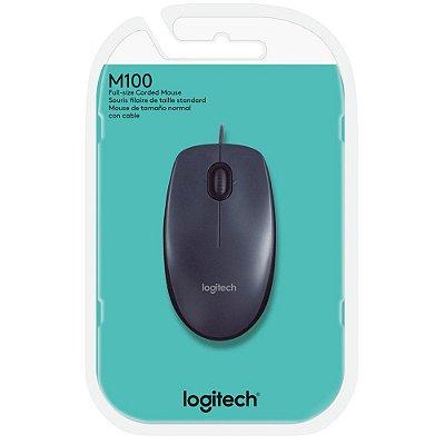 Mouse USB Logitech M100