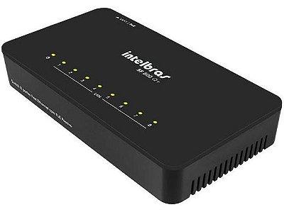 Switch 8 Portas Intelbras SF 800 Q+ - 10/100Mbps