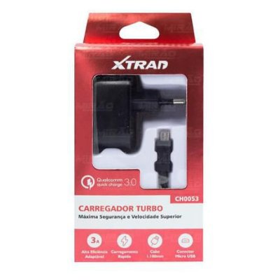 Carregador Turbo Qc3.0 18W Ch0053 Xtrad