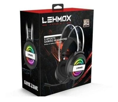 Fone Headset Gamer E-sports Gaming Headphone Profissional Lehmox Gt-F5