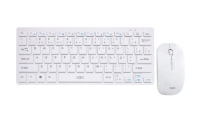 Combo Teclado E Mouse - Ultra Slim - Oex TM405