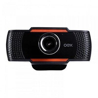 Webcam Easy 720p Preto - Oex