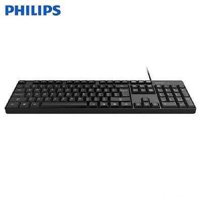 Teclado Usb Philips K224/spk6224 - Preto