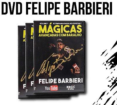 DVD Mágicas Avançadas com Baralho por Felipe Barbieri + Baralho BICYCLE IMPORTADO Especial