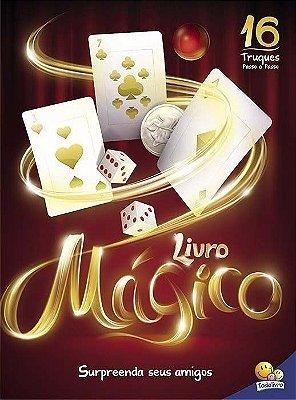 Livro Mágico + Aprenda 16 Mágicas
