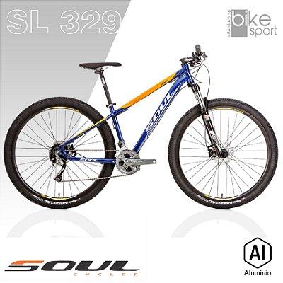 BIC. ALUMINIO SL329 27V AZUL/LARANJA/BRANCO ALIVIO