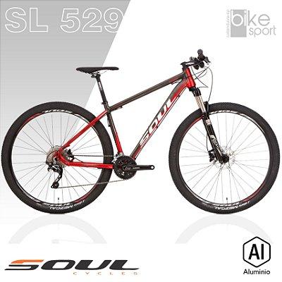 BIC. ALUMINIO SL529 20V GRAFITE/VERMELHO/BRANCO SLX