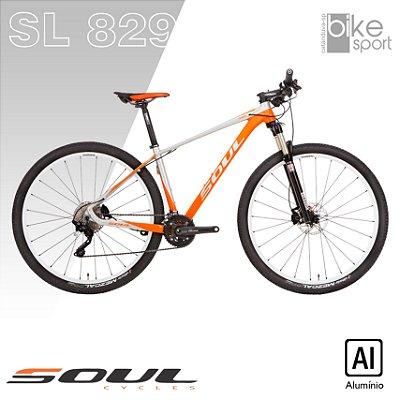 BIC. ALUMINIO SL829 20V LARANJA/PRATA XT