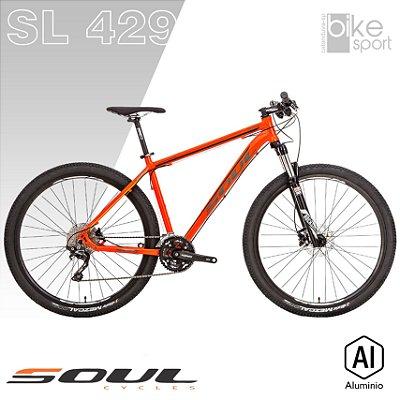 BIC. ALUMINIO SL429 30V LARANJA/PRETO SLX