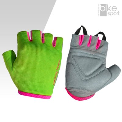 LUVA KODE LADY RACING TEAM VERDE FLUOR/PINK