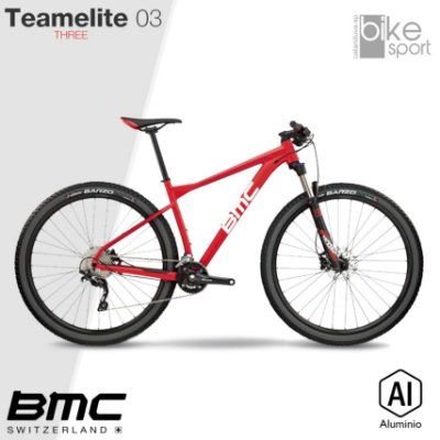 BIC. ALUMINIO TEAMELITE 03 THREE DEORE TEAM RED