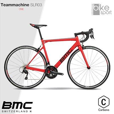 BIC. CARBONO TEAMMACHINE SLR03 ONE 105 SUPER RED
