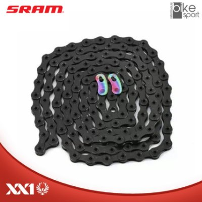 CORRENTE SRAM PC-XX1 EAGLE) 126 ELOS PRETA