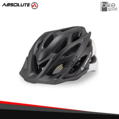 CAPACETE ABSOLUTE WILD PTO./BCO.FOSC M/G