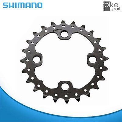 COROA SHIMANO FC-M675 / FC-M615 24T PN:Y1NA24000