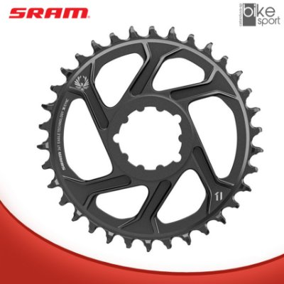COROA SRAM GX EAGLE DIRECT MOUNT 34T 6MM OFFSET PRETA