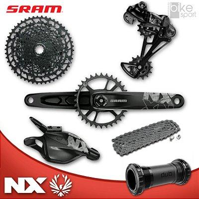 GRUPO SRAM NX EAGLE DUB 1 X 12V 11-50 D