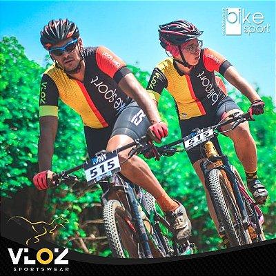Camisa Ciclismo Manga Curta Tour Bike Sport