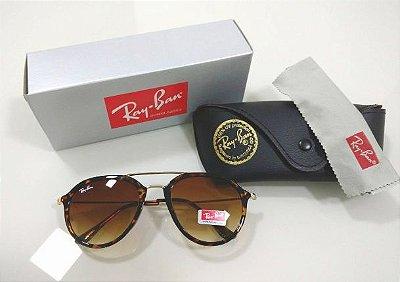 Óculos de Sol Aviador Ray Ban Tartaruga (Oncinha) Lançamento Masculino e  Feminino 61c636a167