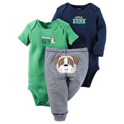 LITTLE HUNK KIT DE BODIES E CALÇA