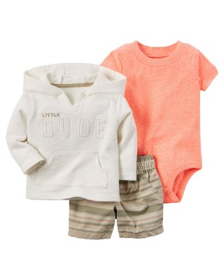 CONJUNTO LITTLE DUDE