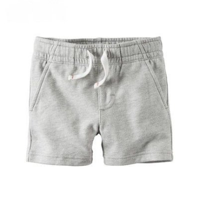 SHORTS CINZA MOLETON