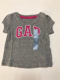 CAMISETA GAP CINZA