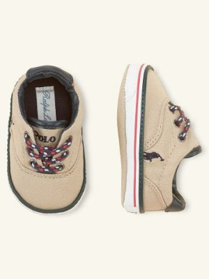 TENIS CANVAS POLO RALPH LAUREN