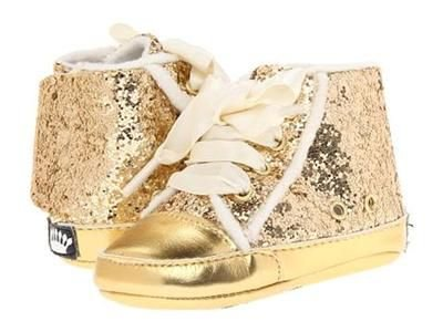 BOTA DOURADA JUICY COUTURE