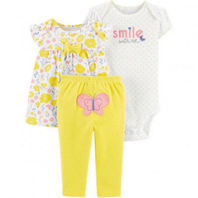 CONJUNTO BORBOLETA CHILD OF MINE BY CARTER'S