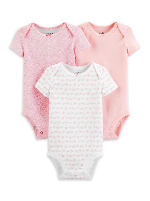 KIT DE BODIES ESTRELINHA CHILD OF MINE BY CARTER'S