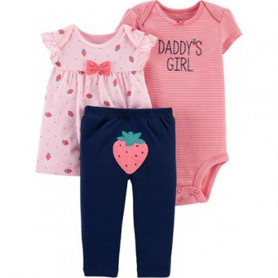 CONJUNTO MORANGUINHO CHILD OF MINE BY CARTER'S