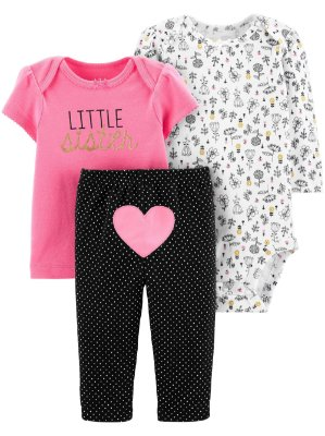 CONJUNTO LITTLE SISTER CHILD OF MINE BY CARTER'S