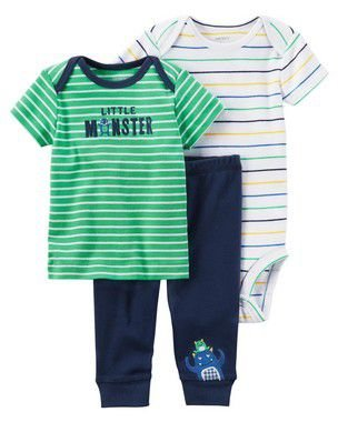 CONJUNTO LITTLE MONSTER