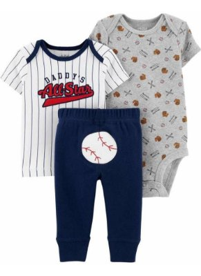 CONJUNTO BASEBALL CHILD OF MINE BY CARTER'S