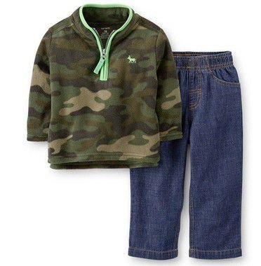 CONJUNTO FLEECE CAMUFLADO