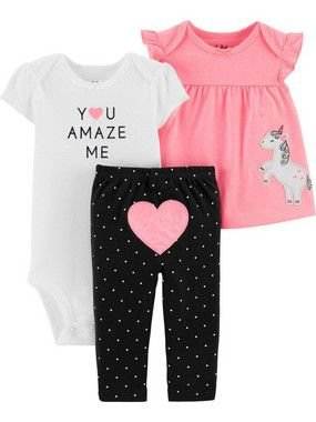 CONJUNTO UNICORNIO CHILD OF MINE BY CARTER'S