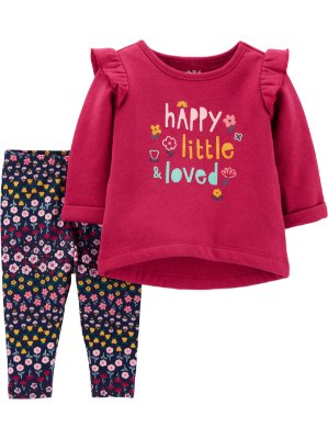CONJUNTO HAPPY LITTLE CHILD OF MINE BY CARTER'S