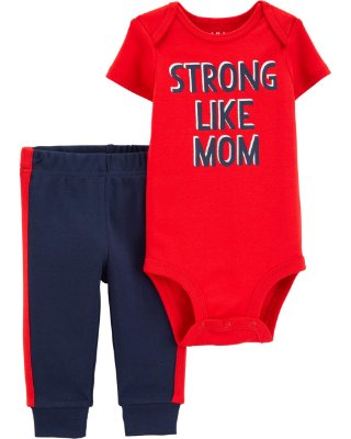 CONJUNTO STRONG CHILD OF MINE BY CARTER'S