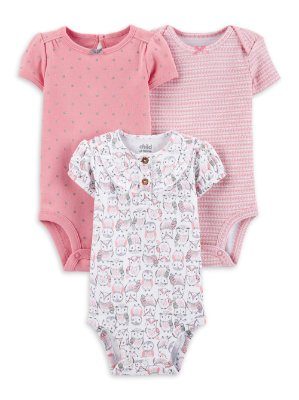 KIT DE BODIES CORUJINHA CHILD OF MINE BY CARTER'S