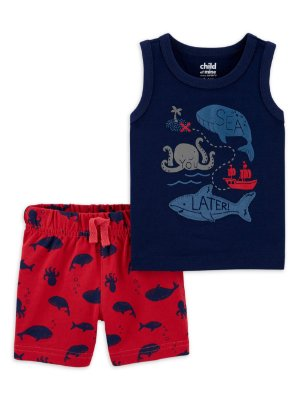 CONJUNTO SEA CHILD OF MINE BY CARTER'S