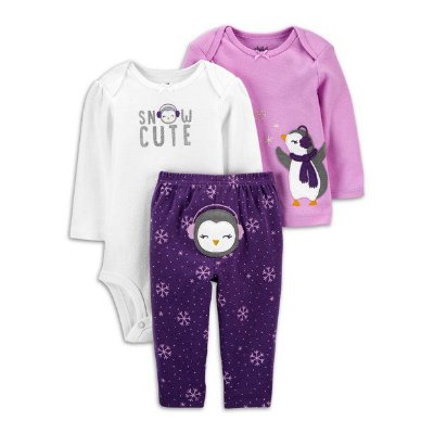 CONJUNTO PINGUIM CHILD OF MINE BY CARTER'S