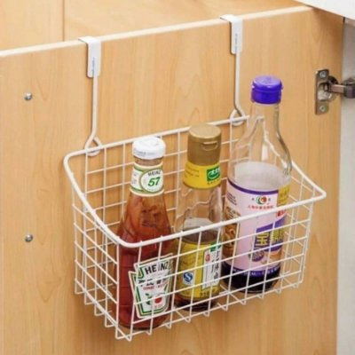 Organizador multiuso Cesto de Porta Cozinha Banheiro 31cm