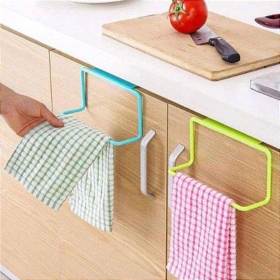 Suporte plástico para Toalhas Panos de prato e utensílios