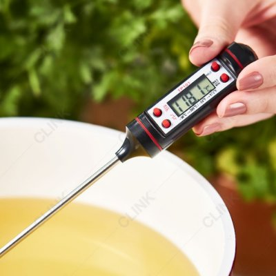 Termômetro Culinário Digital Espeto Alimentos Cozinha