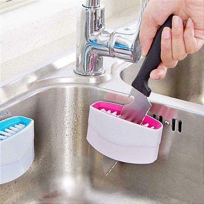 Escova Multiuso com suporte Fácil aplicação