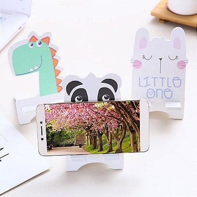 Suporte para Celular Tablet Gato Dinossauro Urso Panda