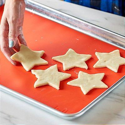 Tapete de Silicone Culinário para forno Antiaderente