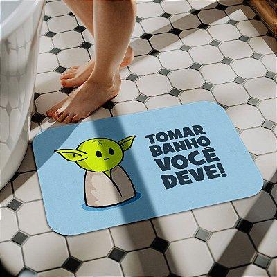 Tapete de Banheiro DrPepper Minioda Tomar banho você deve