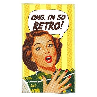 Pano Multiuso em Microfibra OMG I'm So Retro